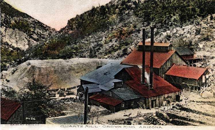 Cedar Roost Inn of Crown King Arizona Lodging History